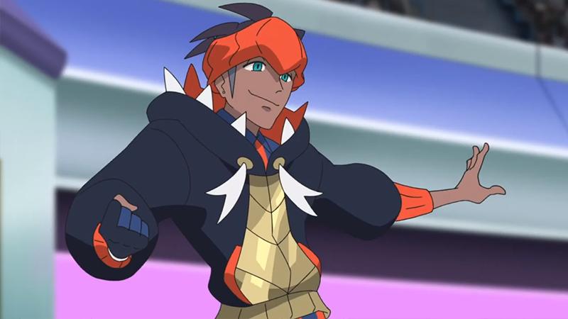 Roy en la serie principal.