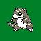 Imagen de Sandshrew variocolor en Pokémon Plata