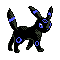 Imagen de Umbreon variocolor en Pokémon Plata