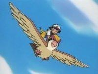Pidgeot usando vuelo.