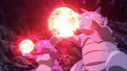 Nidoking y Rhydon usando tumba rocas