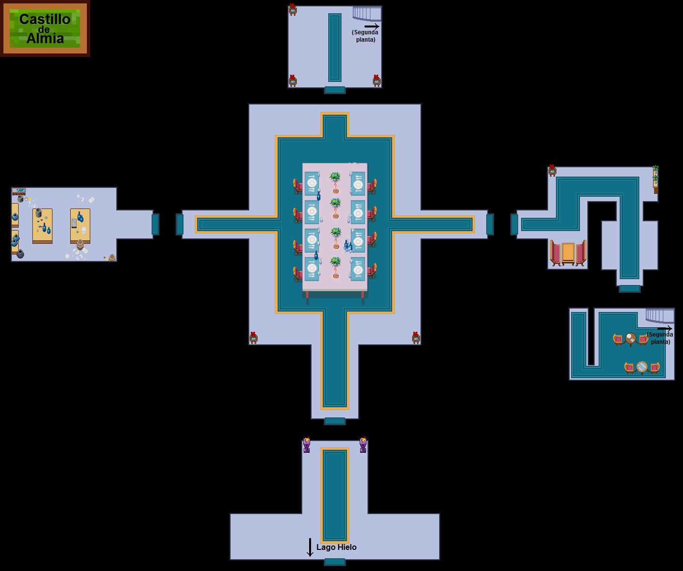 Plano de la primera planta