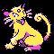 Imagen de Persian variocolor en Pokémon Plata