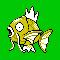 Imagen de Magikarp variocolor en Pokémon Plata