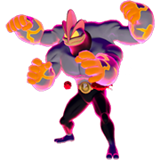 Imagen de Machamp Gigamax en Pokémon Espada y Pokémon Escudo