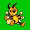 Imagen de Ledian variocolor en Pokémon Plata