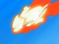 Staravia se envuelve en llamas...