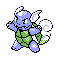 Imagen de Wartortle variocolor en Pokémon Plata