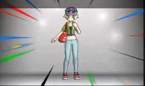 Serena con otra ropa