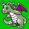 Imagen de Dragonite variocolor en Pokémon Plata