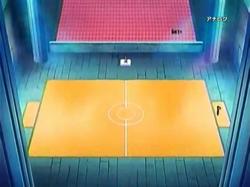 Campo de batalla del Gimnasio de Corazón en el anime