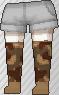 Calcetines de camuflaje marrón.png