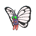 Butterfree XY variocolor hembra.png