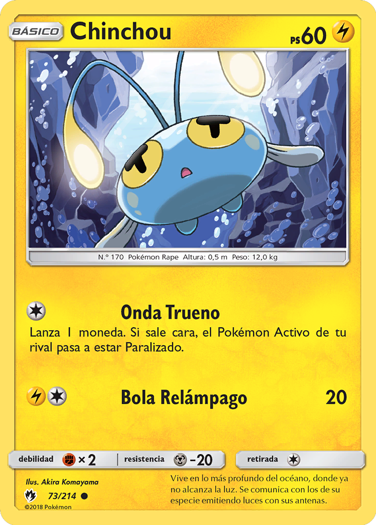 Carta de Chinchou
