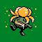Imagen de Gloom variocolor en Pokémon Plata