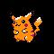 Imagen de Pikachu variocolor en Pokémon Plata