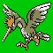 Imagen de Fearow variocolor en Pokémon Plata