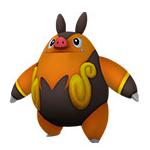 Pignite Pokédex 3D.png
