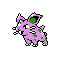 Imagen de Nidoran hembra variocolor en Pokémon Plata