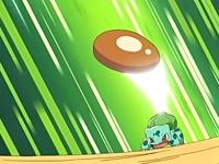 Bulbasaur lanzando drenadoras.