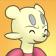 Cara feliz de Mienfoo 3DS.png