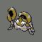Imagen de Krabby variocolor en Pokémon Plata