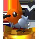 Trofeo de Fletchling SSB4 (3DS).png