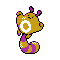 Imagen de Sentret variocolor en Pokémon Plata