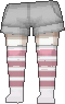 Calcetines de rayas rosa claro.png