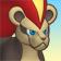 Cara de Pyroar hembra 3DS.png