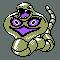 Imagen de Arbok variocolor en Pokémon Plata