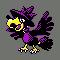 Imagen de Murkrow variocolor en Pokémon Plata