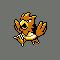 Imagen de Spearow variocolor en Pokémon Plata