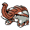 Imagen de Donphan variocolor en Pokémon Plata