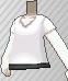 Camiseta cuello de pico blanca.png