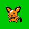 Imagen de Pichu variocolor en Pokémon Plata