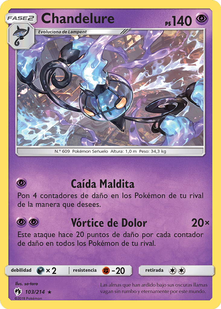 Carta de Chandelure
