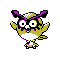 Imagen de Hoothoot variocolor en Pokémon Plata
