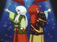 Jessie y James haciendo Kabuki.