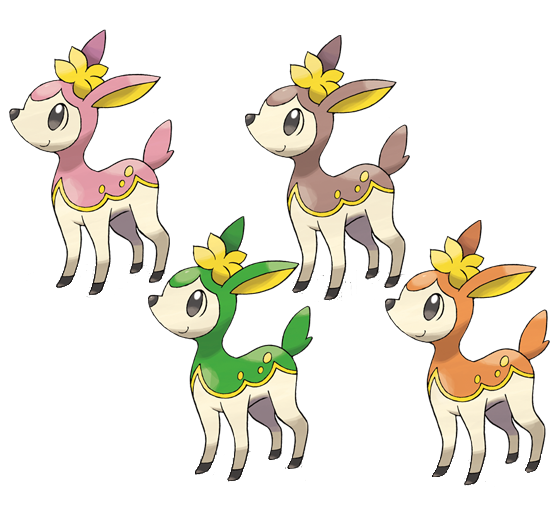 Deerling - WikiDex, la enciclopedia Pokémon