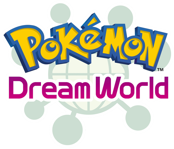 Archivo:Logo Pokémon Dream World (Ilustración).png