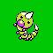 Imagen de Weedle variocolor en Pokémon Plata