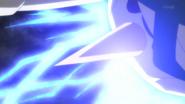 Kyogre primigenio usando rayo hielo.