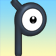 Cara de Unown P 3DS.png