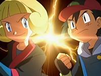 Animación de los dos rivales