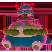 Imagen de Snorlax Gigamax en Pokémon Espada y Pokémon Escudo