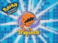 ¡Trapinch!