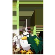 Imagen de Sirfetch'd en Pokémon Espada y Pokémon Escudo