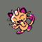 Imagen de Meowth variocolor en Pokémon Plata
