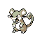 Imagen de Rattata variocolor en Pokémon Plata